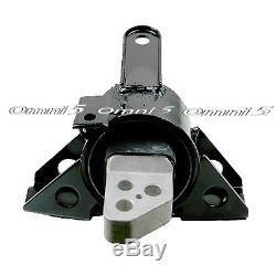 M050 Fit 13-15 Chevrolet Spark 1.2L MANUAL, Engine Motor & Trans Mount Set 3pcs