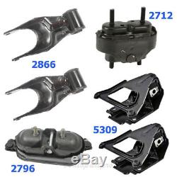 M661 Engine Motor & Trans. Mount Set Of 6PCS For Chevrolet Impala 3.8L 2000-2005