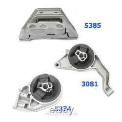 M932 06-11 Chevy HHR Pontiac G5 2.2/ 2.4L Motor & Trans Mount 5385 3081 5374