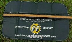 Mechanic Fender Cover Moon Eyes gas oil Accessory Hot Rod Rat Rod Truck GM