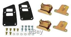 Motor Mount Mounts + Adapter Plate Plates Chevy LSx LS 5.3L 6.0L Vortec LM7 5.7L