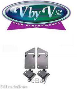 Motor Mount, Swap Mount, Chevy, Small Block Gen 1 to Chevy LS1/Vortec, With Pad