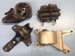 Motor Mount & Transmission Mounts Set 4PCS for 97-01 Chevrolet Malibu 2.4L/3.1L