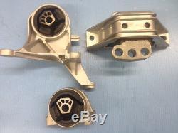 Motor & Trans Mount 3PCS Set for 05-09 Chevrolet Equinox, Pontiac Torrent 3.4L