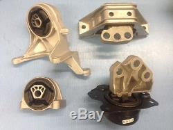 Motor & Trans Mount 4PCS Set for 05-06 Chevrolet Equinox 06 Pontiac Torrent 3.4L