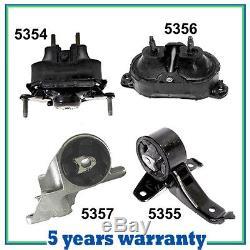 Engine /& Trans Mount Set for 2004-2010 Chevrolet Malibu//G6// Aura 3.5L Set 4PCS