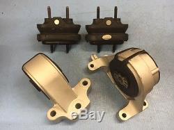 Motor & Trans Mounts Set 4PCS For 08-09 Chevrolet Equinox / Pontiac Torrent 3.6L