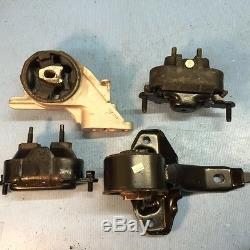 Motor & Trans Mounts Set for 04-10 Chevy Malibu/ Pontiac G6/ Saturn Aura 3.5L