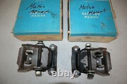NOS Engine Motor Mounts for Chevy Passenger Car, Chevelle, Camaro P/N 3990914
