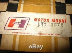 NOS Hurst Mount 327 409 427 Chevy V8 1930's-40's Ford Coupe Sedan Truck Gasser