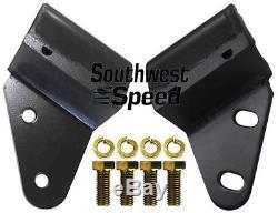 New 55-57 Chevy Bellhousing Mounts, Bbc & Sbc V-8, I6 Cylinder, Rear, Engine Mounts