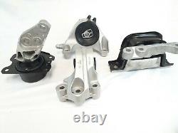 New Engine & Auto Trans Mount full Kit Fits Chevrolet Equinox & GMC Terrain 3.6L
