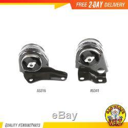 New Engine Motor Mount Kit 2PCS3 Fits 94-03 Chevrolet GMC Hombre S10 2.2L OHV 8v