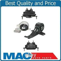 New Engine Motor & Transmission Mounts 4Pc Kit for Chevrolet Malibu 3.5L 04-07