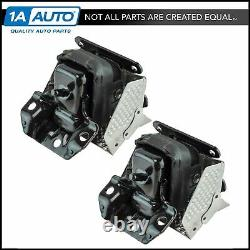 OEM 15854939 Engine Mount LH & RH Kit Pair Set of 2 for GM Truck SUV New