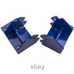 Pair Steel Racing Motor Mounts Adapter for GM to Cummins Conversion fit 7731103
