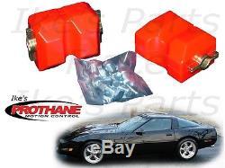 Prothane 7-522 Chevrolet C4 Corvette Motor Mount Insert Bushing Kit 84-90-Poly
