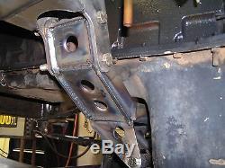 Rob Bonney Fab 73-87 4x4 Chevy Truck 6BT Cummins Conversion Motor Mounts