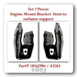 Set 4 Pcs Engine Motor Mounts Front 3.5 3.9 5.3 L Fits Impala Monte Carlo