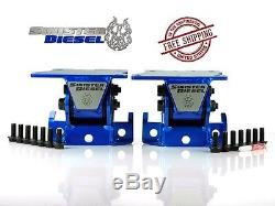 Sinister Diesel Perf Motor Mounts 01-10 GM 6.6L Duramax Diesel LB7 LLY LBZ LMM