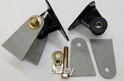 Small Block Chevy SBC Weld In Engine Swap Universal Motor Mounts