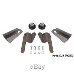 Speedway Universal Chevy Steel Engine Mount Kit-Pads/Cushion/Hardware