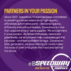 Speedway Universal Polished Billet SBC/BBC Chevy Engine Motor Mounts