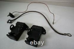 Spring Ring Negative Battery Cable, Motor Mounts, Oil Line for 1963 Corvette