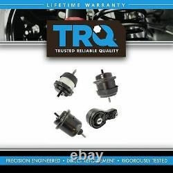 TRQ 4 Piece Engine & Transmission Motor Mount Kit for Enclave Arcadia Traverse