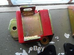 Trans Dapt LS1 SBC Chevy Motor Mount Engine Plates Swap LSX Hot Rod 4582 E1