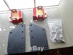 Trans Dapt LS1 SBC Chevy Motor Mount Engine Plates Swap LSX Hot Rod 4582 R