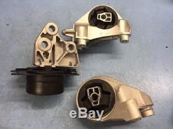 Trans Mount Set 3PCS for 10-17 Chevrolet Equinox, GMC Terrain, 12-15 Captiva Spo