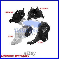 Transmission And Engine Mounts Set For 04/08 Chevrolet Malibu 3.5L