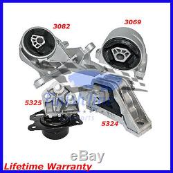 Transmission And Engine Mounts Set For 05/06 Chevrolet Equinox 3.4L