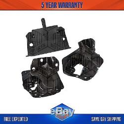 Transmission Motor Mounts Front Left Right Set 4.3 L For Chevrolet GMC
