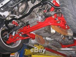 UMI Performance 2320-B -98-02 GM F-Body Tubular K-Member LS Engines Black