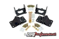 UMI Performance F/G Body V8 Heavy Duty Solid Engine Motor Mount Kit
