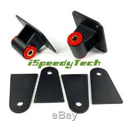Universal Motor Mounts For Chevrolet LS LS1 LS2 LS3 LS6 LS Engine 4.8L 5.3L 5.7L