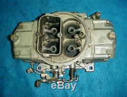 Used 4781 Holley Double Pump Carb Carburetor 850 Cfm Pumper Ford Chevy Amc