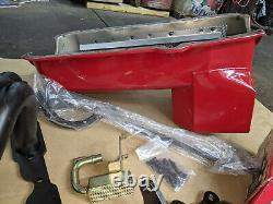 V8 Small Block Chevy Swap Kit S10 Truck Trd-44061 Extreme Oil Pan Mounts Headers
