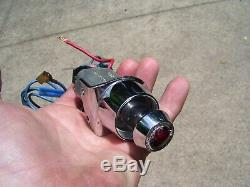 Vintage 1960s Hazard flasher switch Roberk light lamp auto gm street rat hot rod