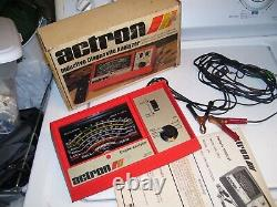 Vintage 70s ACTRON Engine tune-up tester meter auto service gm street rat rod