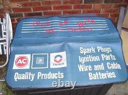 Vintage 70s AC Delco promo auto fender service part rat gm Hot rod accessory