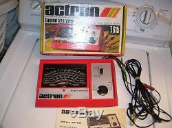 Vintage 70s actron us Engine tune-up tester meter auto service gm street rat rod