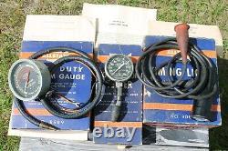 Vintage Engine tune-up testers tool meter auto service gm street rat rod antique