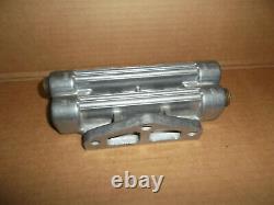 Vintage Original NOS Dual Oil Filter Aluminum Remote MountHot Rod4x4Race Car