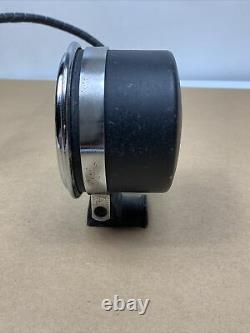 Vintage SW Blue Line Tach 8,000 RPM Stewart Warner Tachometer Column Mount