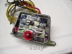 Vintage Yankee auto Hazard flasher emergency switch chrome gm street rat rod