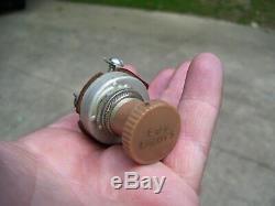 Vintage auto Fog light switch dash part car 50s accessory gm street rat hot rod