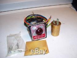 Vintage nos 1960' s auto lamp Hazard flasher Light switch kit gm street rat rod